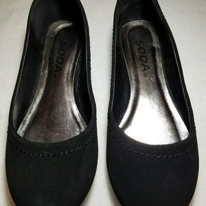 Black  Suede Shoes